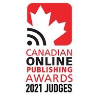 Canadian Online Publishing Awards Logo